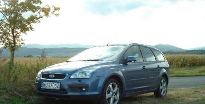 Ford Focus II Kombi 1.6 Duratec 100KM 74kW 2005-2011