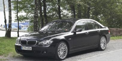 BMW Seria 7 E65 Sedan 750 i 367KM 270kW 2005-2008