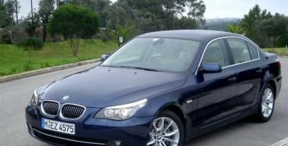 BMW Seria 5 E60 Sedan 550 i 367KM 270kW 2005-2010