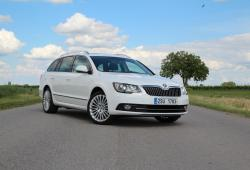 Skoda Superb II Kombi Facelifting -