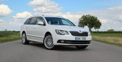Skoda Superb II Kombi Facelifting 2.0 TDI CR DPF  140KM 103kW 2013-2015