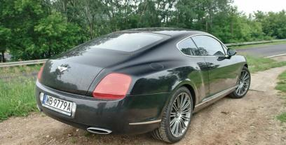 Bentley Continental GT 6.0 W12 Twin-Turbo 560KM 412kW od 2003