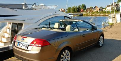 Ford Focus II Coupe-Cabriolet 1.6 Duratec 16V 100KM 74kW 2006-2011