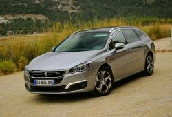 Peugeot 508 SW Facelifting -
