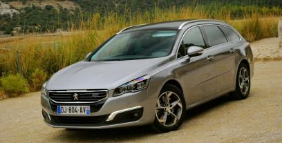 peugeot 508 i sw facelifting 2.0 hdi 160km 118kw 2014-2015 - opinie