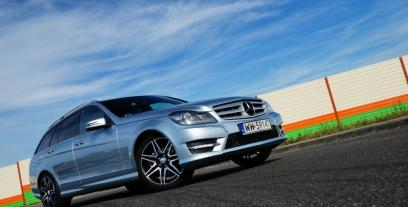 Mercedes Klasa C W204 Kombi T204 Facelifting 180 CDI BlueEFFICIENCY 120KM 88kW 2011-2014