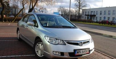 Honda Civic VIII Coupe 1.8 i 16V 140KM 103kW 2006-2011