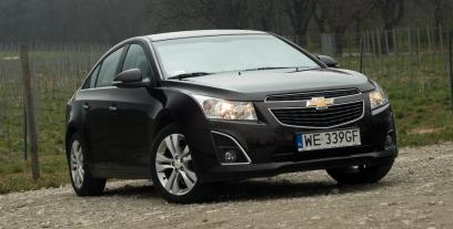 Chevrolet Cruze Sedan 1.7D  130KM 96kW 2012-2014