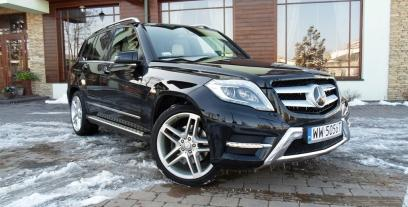 Mercedes GLK Off-roader Facelifting 220 CDI BlueEFFICIENCY 170KM 125kW 2012-2015