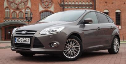 Ford Focus III Hatchback 5d 1.6 Duratec Flexi-Fuel 120KM 88kW 2011-2012