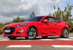 Hyundai Genesis Coupe Coupe Facelifting -