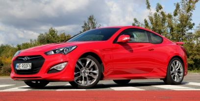 Hyundai Genesis Coupe Coupe Facelifting 2.0 TCI 275KM 202kW 2013