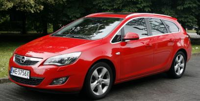 Opel Astra J Sports Tourer 1.4 Turbo ECOTEC 140KM 103kW 2010-2012