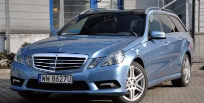 Mercedes Klasa E W212 Kombi 250 CDI BlueEFFICIENCY 204KM 150kW 2009-2012