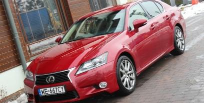 Lexus GS IV Sedan 250 209KM 154kW od 2012