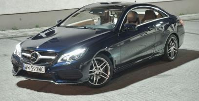 Mercedes Klasa E W212 Coupe Facelifting 250 CDI 204KM 150kW 2013-2016