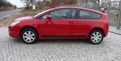 Citroen C4 I Coupe Facelifting 1.6 HDI 92KM 68kW 2008-2010
