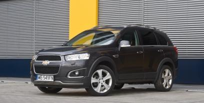 Chevrolet Captiva II SUV Facelifting 2.0 D 163KM 120kW od 2013