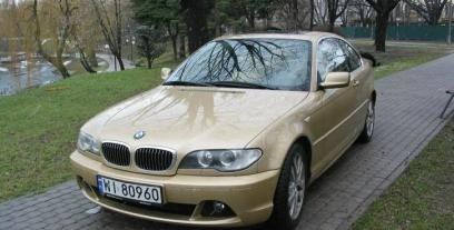 BMW Seria 3 E46 Coupe 320 Cd 150KM 110kW 2003-2007