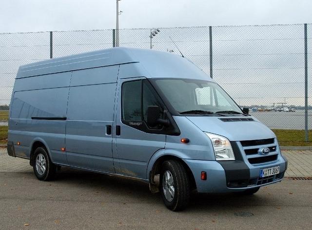 Góra Ford Transit VI Van Jumbo • Dane techniczne • AutoCentrum.pl NR76