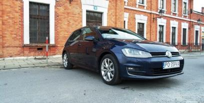 Volkswagen Golf VII Hatchback 5d 1.6 TDI BlueMotion Technology 110KM 81kW od 2015