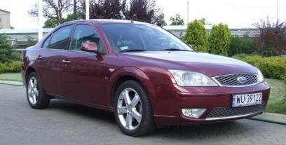 Ford Mondeo III Sedan 2.5 170KM 125kW 2001-2007