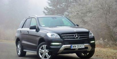 Mercedes Klasa M W166 Off-roader 350 BlueEFFICIENCY 4MATIC 306KM 225kW 2011-2015