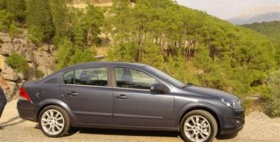 Opel Astra H Sedan 2.0 i 16V Turbo 170KM 125kW 2007