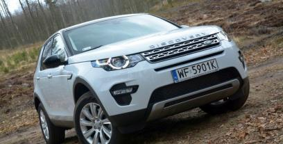 Land Rover Discovery Sport I SUV 2.0 TD4 180 KM 132 kW