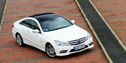Mercedes Klasa E W212 Coupe 300 BlueEFFICIENCY 251KM 185kW 2011-2012