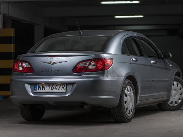 Chrysler Sebring III Sedan - Opinie lpg