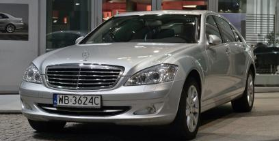 Mercedes Klasa S W221 Limuzyna 3.0 V6 (320 CDI BlueEFFICIENCY) 235 KM 173 kW