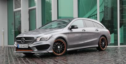 Mercedes CLA Shooting Brake 250 211KM 155kW 2015-2016