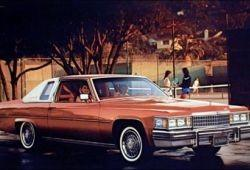 Cadillac DeVille VIII Coupe 4.1 137KM 101kW 1982-1984