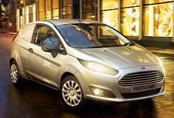 Ford Fiesta VII Van Facelifting