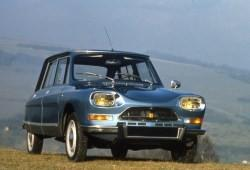 Citroen AMI Sedan 0.6 33KM 24kW 1968-1978
