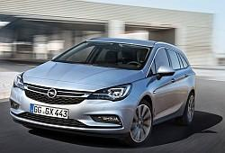 Opel Astra K Sports Tourer 1.4 Turbo 150KM 110kW od 2016