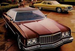 Chevrolet Caprice Classic II Sedan 6.6 Turbo 260KM 191kW 1972-1976