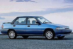 Mercury Tracer II Sedan 1.8 127KM 93kW 1991-1996