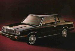 Chrysler LE Baron II Coupe 2.5 Turbo 152KM 112kW 1981-1988