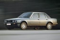 BMW Seria 3 E30 Sedan 316 i 102KM 75kW 1987-1988