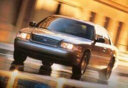 Ford Crown Victoria II 4.6 i V8 223KM 164kW 1998-2003