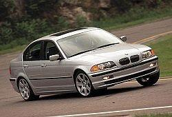 BMW Seria 3 E46 Sedan 316 i 105KM 77kW 1999-2001