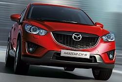 Mazda CX-5 SUV Facelifting
