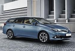 Toyota Auris II Touring Sports Facelifting 1.8 Hybrid 136KM 100kW 2015-2018