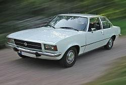 Opel Rekord D Coupe 1.9 S 97KM 71kW 1972-1975