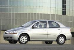 Chevrolet Aveo T200 Sedan 1.2 i 72KM 53kW 2002-2006