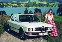 BMW Seria 5 E12 Sedan 520 i 125KM 92kW 1976-1979