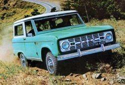 Ford Bronco I 3.3 120KM 88kW 1973-1974