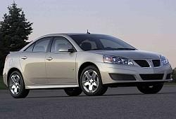 Pontiac G6 I Sedan Facelifting 3.5 V6 221 KM 163 kW